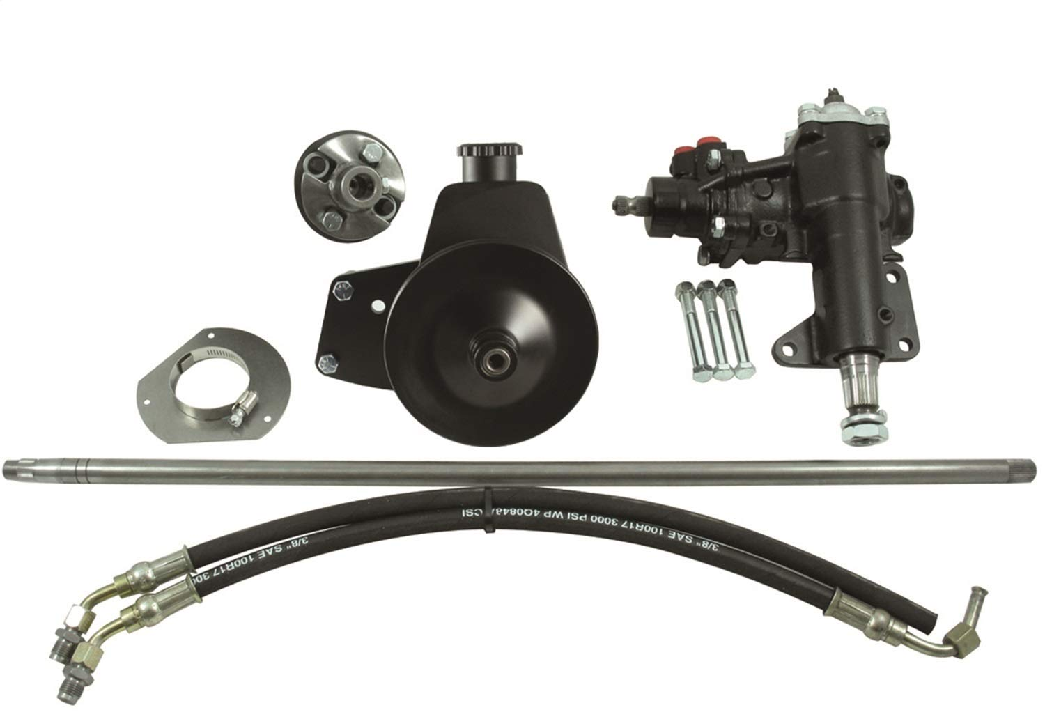 Amazon com borgeson 999020 power steering conversion kit automotive