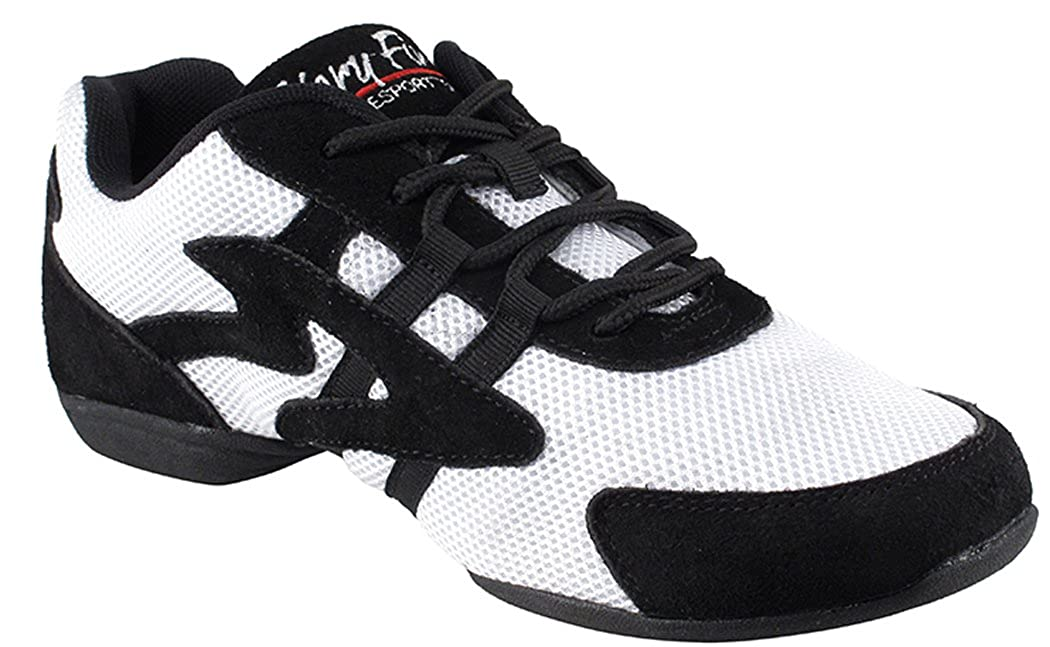 Low Profile Unisex Dance Sneakers White