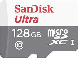 Cartão Microsd Sandisk Ultra 128Gb Cl 10 80Mb/S Lacrado