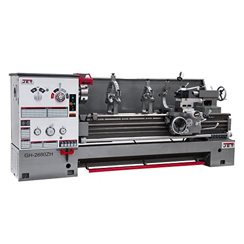 JET 26×80 Geared Head Engine Lathe 4-1 8-inch Bore