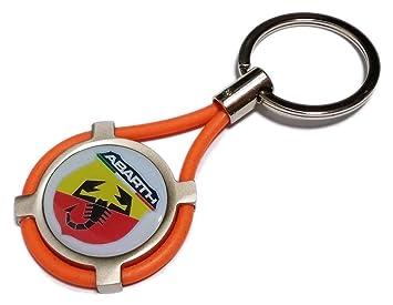 NUEVO llavero Abarth coche moto Keyring or: Amazon.es: Coche ...