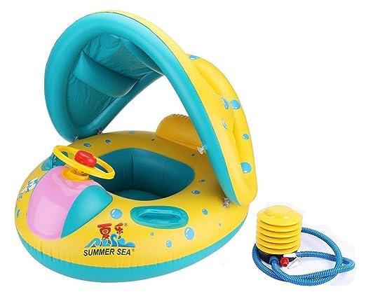 2 opinioni per Anello di nuoto giubbotto salvagente per bambini akaufeng Aiuto al