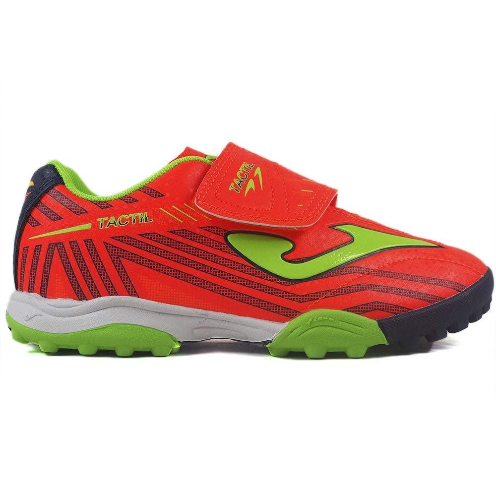 Zapatillas Botas de f/útbol Infantiles y Adolescentes F/útbol Joma Tactil Jr 907 Coral Turf