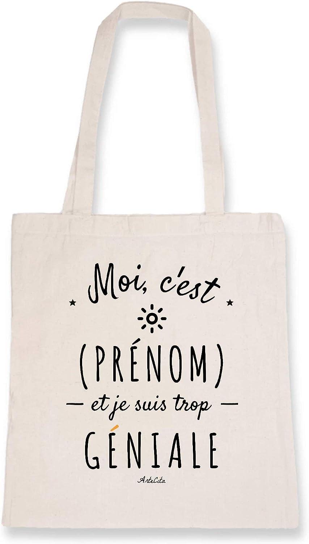 ArteCita Tote Bag para personalizar con un nombre femenino – Moi c ...