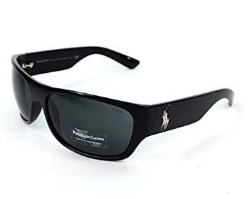 Ralph Lauren Gafas de Sol Polo, Hombre, Negro, Large: Amazon ...