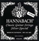 Hannabach Strings for classic guitar Series 815 For 8/10 string guitar / medium tenion Silver special G/3 single string