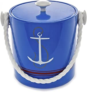 product image for Mr. Ice Bucket Blue Anchor Ice Bucket, 3-Quart
