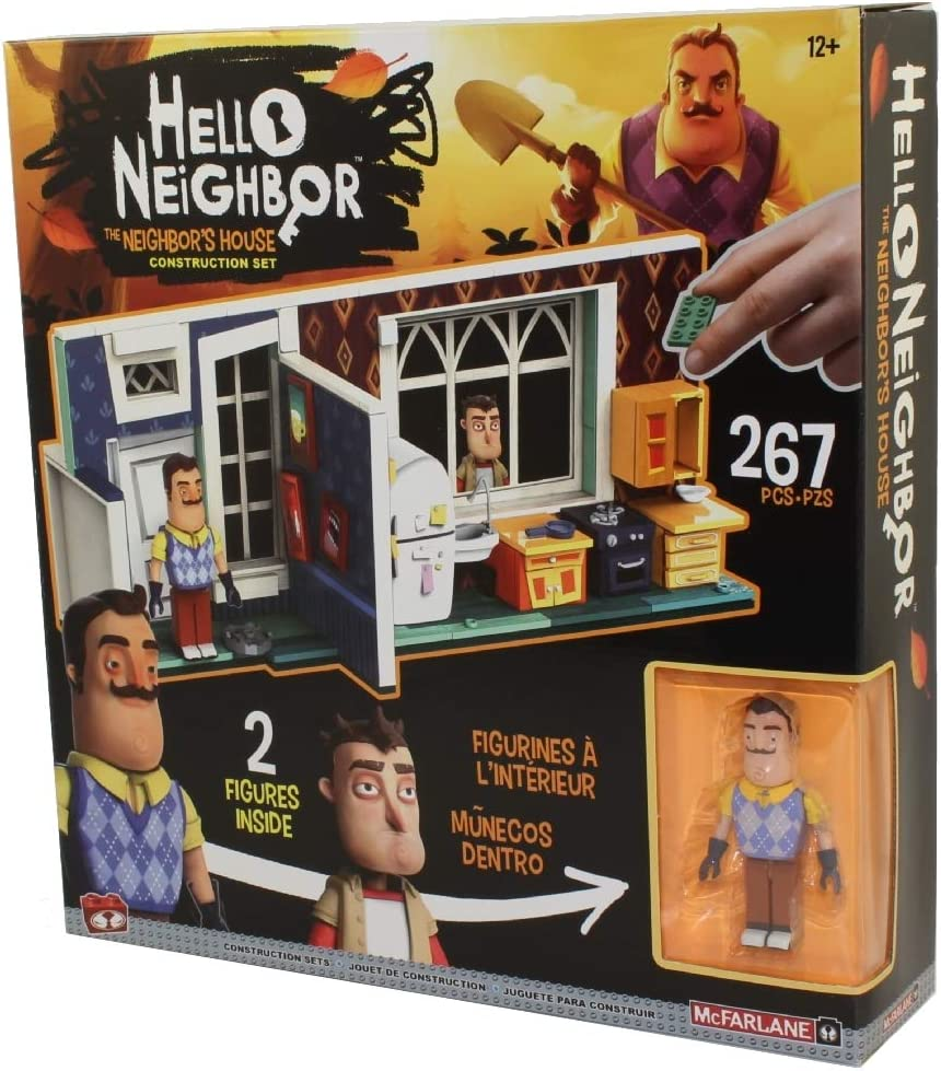 McFarlane Toys Hello The Neighbors House Large Construction Set ...