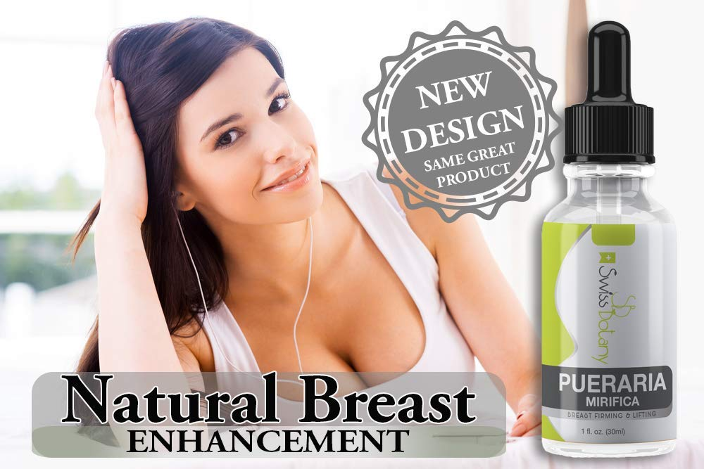 Pueraria Mirifica Serum. Natural Breast Enhancement. Truly the Best Natural Breast Lifting Anti-sagging Product - 100% Money Back Guarantee (1 fl.oz)