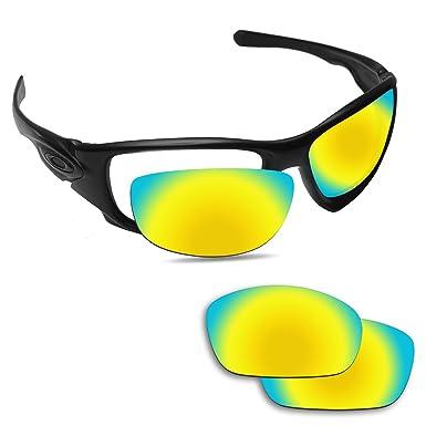 de04579967 Amazon.com  Fiskr Replacement Lenses for Oakley Ten X Polarized Gold ...