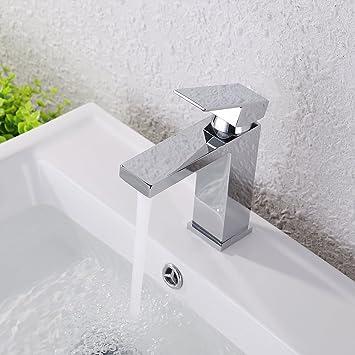KES Lead-Free Brass Bathroom Sink Faucet Single Handle Lavatory ...