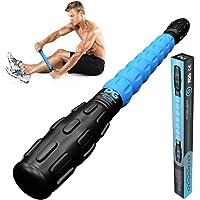 Physix Gear Sport Rodillo Masaje Muscular para Nudos y Puntos gatillo, el Mejor Rodillo masajeador Espalda, piernas y…