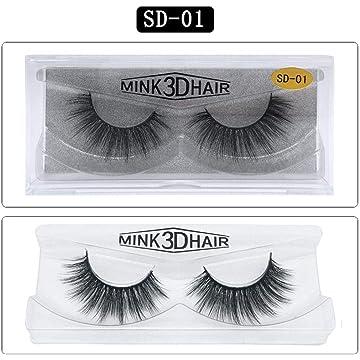 Ladiy Fashion Thick Soft Lengthen 3D Fake Eyelashes Eye Makeup Accessories False Lashes