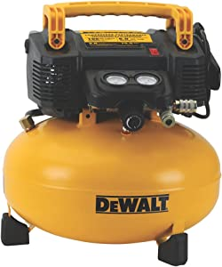 DEWALT Pancake Air Compressor, 6 Gallon, 165 PSI