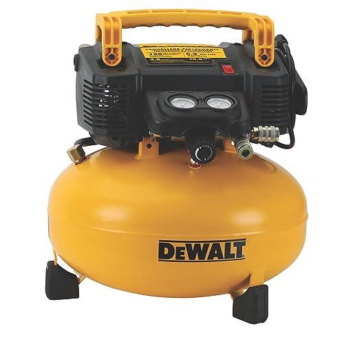 4. DEWALT DWFP55126 6-Gallon 165 PSI Pancake Compressor