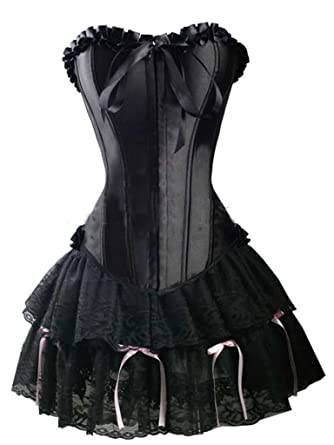 Black Corset Dress