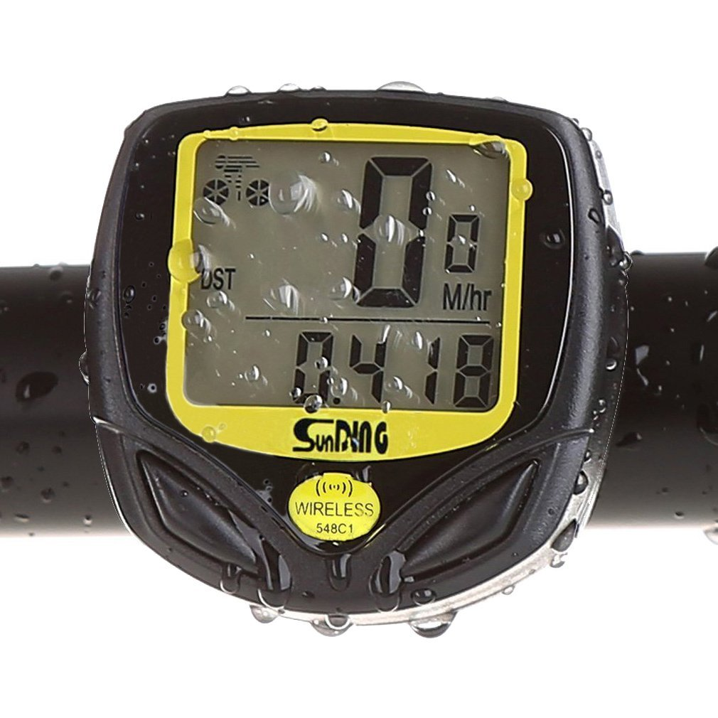 Waterproof Cycling Bike Odometer Bycicle Speedometer KEWAYO Multi Functions Wireless Cyclocomputer