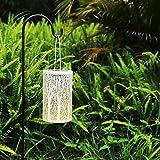 Solar Lantern Outdoor Lights Metal Hanging Garden