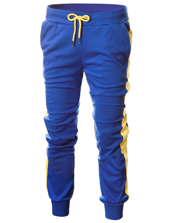 GIVON PANTS メンズ B07BRPGZD4 Dca007 Blue/ Yellow Yellow Yellow XX-Large PANTS XX-Large|Dca007 Blue/ Yellow, クリッピングポイント:dad755de --- krianta.com