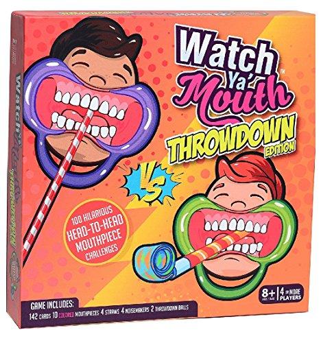 Buffalo Games Watch Ya' Mouth Throwdown Edition Game Standard ()