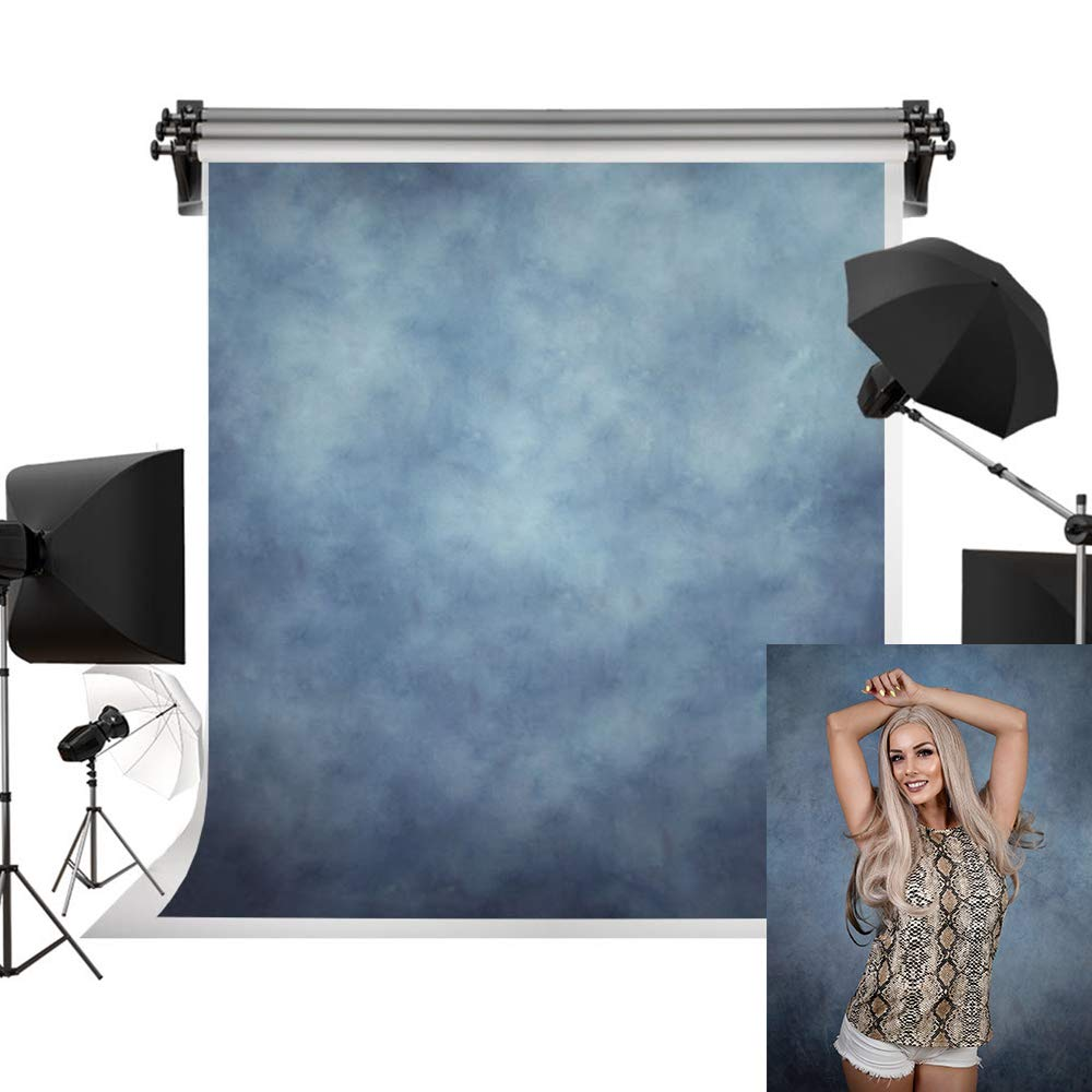 Kate 10x10ft/3x3m Blue Backdrops Photographers Retro Solid Light Blue Background Photography Props Studio Printed Backdrop by Kate