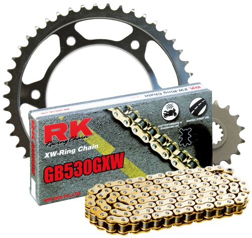 530 Series 104-Links Standard Non O-Ring Chain with Connecting Link RK Racing Chain M530HD-104