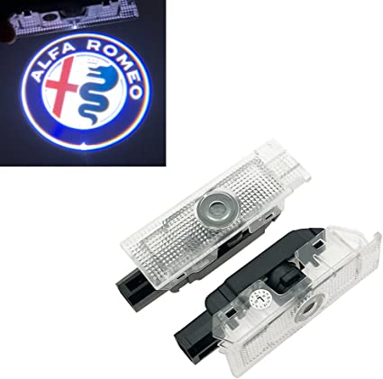 Inlink 2 pieza Logo Puerta Iluminación 12 V alta definición Auto ...