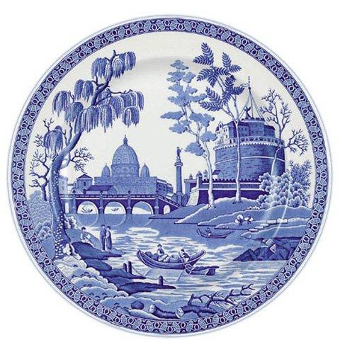 Spode Blue Room Georgian Dinner Plate(s) Rome