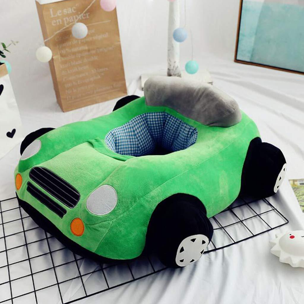 Blue B Blesiya Cute Car Children Seat Sofa Cover Kids Furniture Armchair Baby Chair Stuff Toy Bean Bag Home Playroom Decor