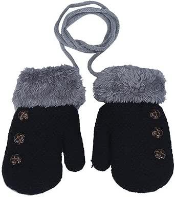 MIOIM® Guantes de Invierno calientes con una cuerda suaves