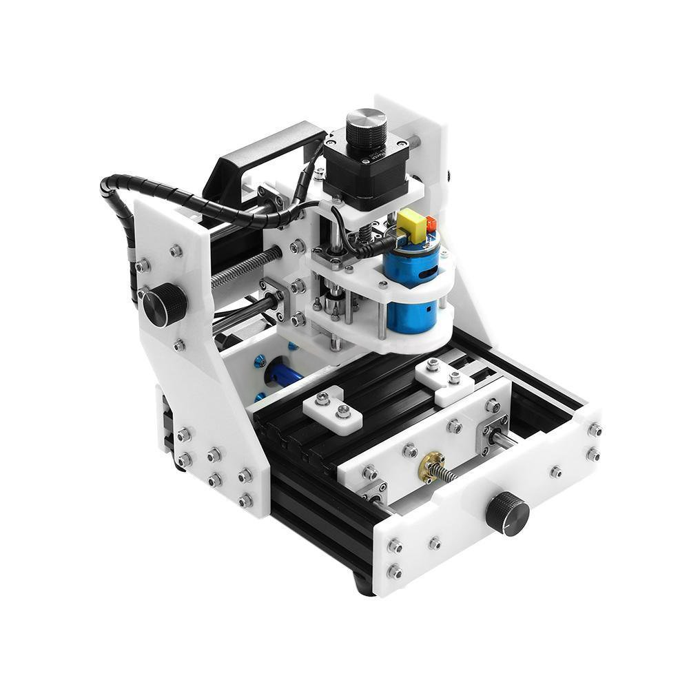 Wisamic Eleksmaker Eleksmill Acrylic High Precision Micro Mini Pcb Cutting Machine Sewing Modification Electronics Projects Desktop Cnc Milling Engraving Router Kits For Plastic Wood Pvc