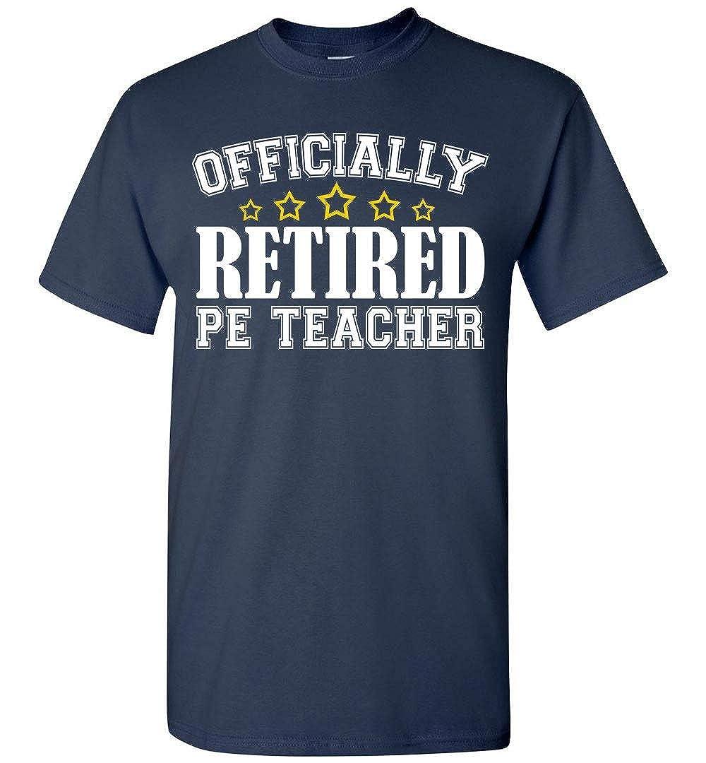Retired PE Teacher Gifts T-Shirt shopdoz Retirement Shirt for PE Teachers