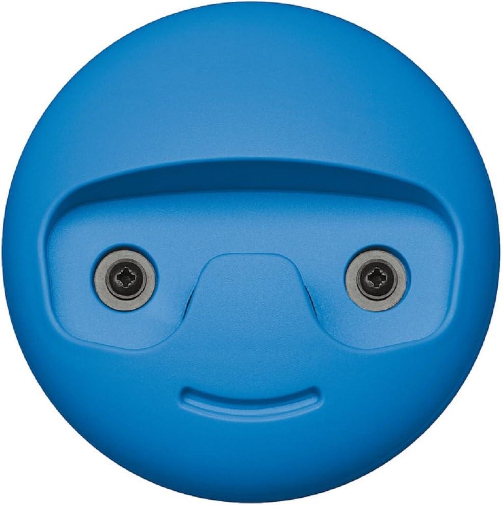 gedotec diseño perchero de Pared Ganchos Para Ropa Niños - modelo smile Abrigo Plástico Verde Ø 119mm Moderno DORMITORIO INFANTIL VISIBLE Jodido CALIDAD MARCAS SU SALA ESTAR - Haken - blau