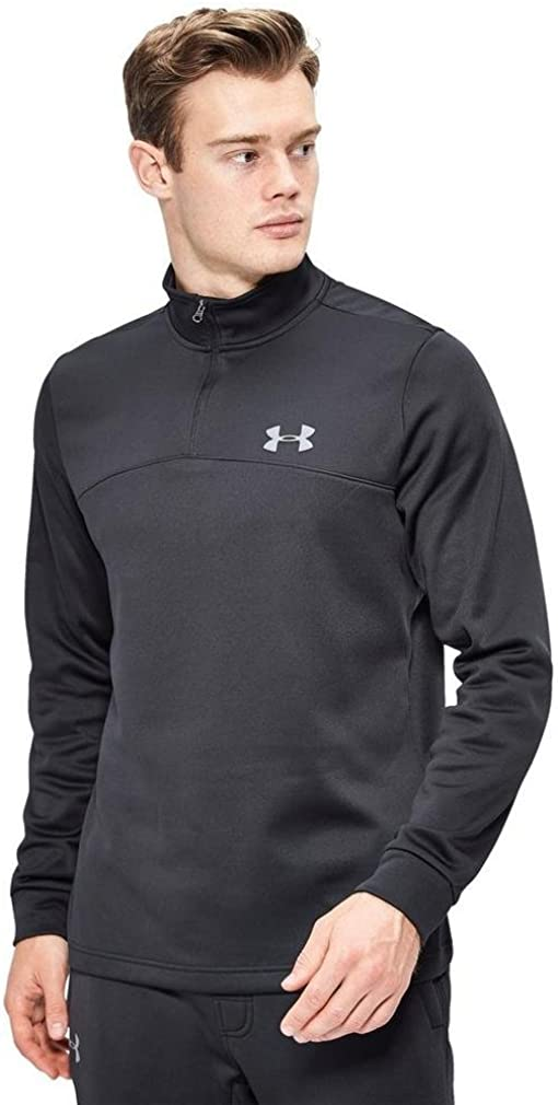 TALLA FR : S (Taille Fabricant : SM). Under Armour AF Icon 1/4 Zip Sudadera, Hombre