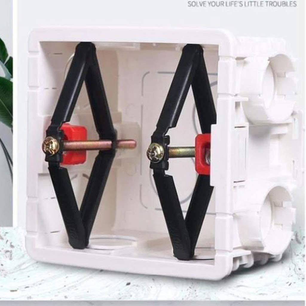 High Efficiency Fixed Artifact 40 Pair One-Piece Convenient Installation Wall Mount Switch Cassette Repair Switch Box Repair Tool for Fixing Steel Frame Economy