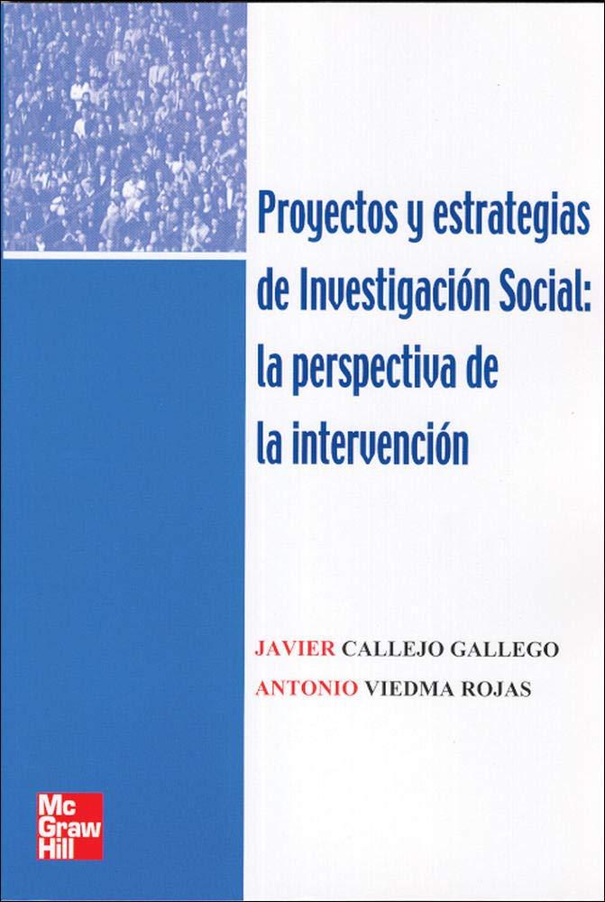 Proyectos y Estrategias de Investigaci}n Social: Amazon.es ...
