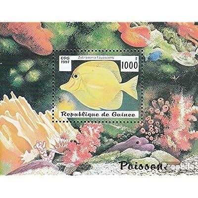Guinée Bloc 510 (complète.Edition.) 1997 Poisson (Timbres pour les collectionneurs)