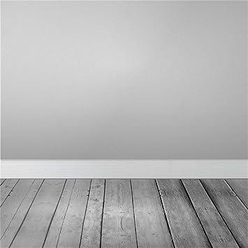 Amazon Com Leowefowa 8x8ft Shabby Chic Texture Grey