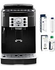 De'Longhi Magnifica S ECAM Kaffeevollautomat + Wasserfilter | Zubehör für alle De'Longhi Kaffeevollautomaten mit Wasserfilter + EcoDecalk Entkalker | Universal Kalklöser für 4 Entkalkungsvorgänge