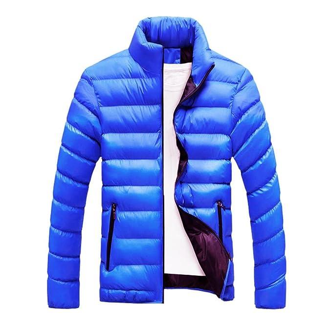 abrigos hombre invierno largos 2017 Sannysis cardigans cremalleras de bolsillo chaquetas hombre moto deportivas invierno baratos gruesa burbuja abrigo: ...