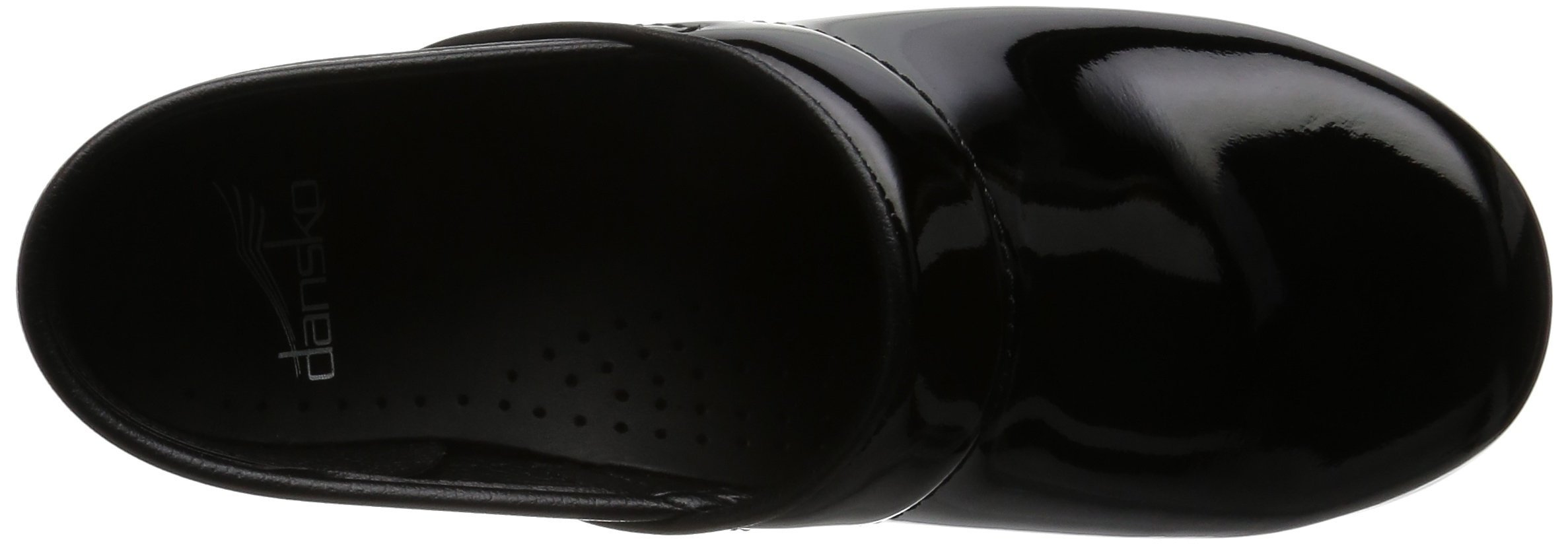 Dansko Women's Professional Patent Leather Clog,Black Patent,37 EU / 6.5-7 B(M) US by Dansko (Image #9)