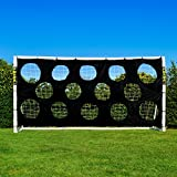 Soccer Goal Targets. Pro Soccer Target Sheets. Great For Soccer Practice. Select Your Size! (6' x 4')