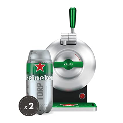 Pack Heineken THE SUB | Tirador de cerveza de barril THE SUB Heineken Edition + 2