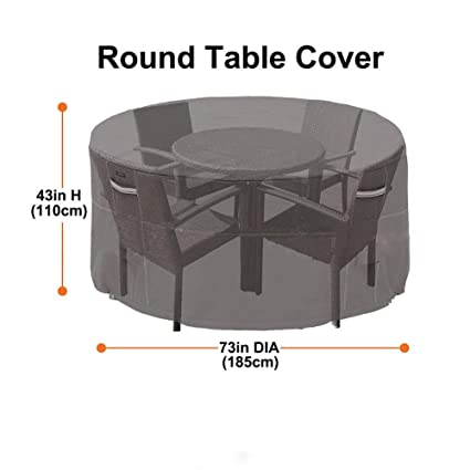 Amazon.com: Shade Sails Nets - Garden Round Furniture Cover ...