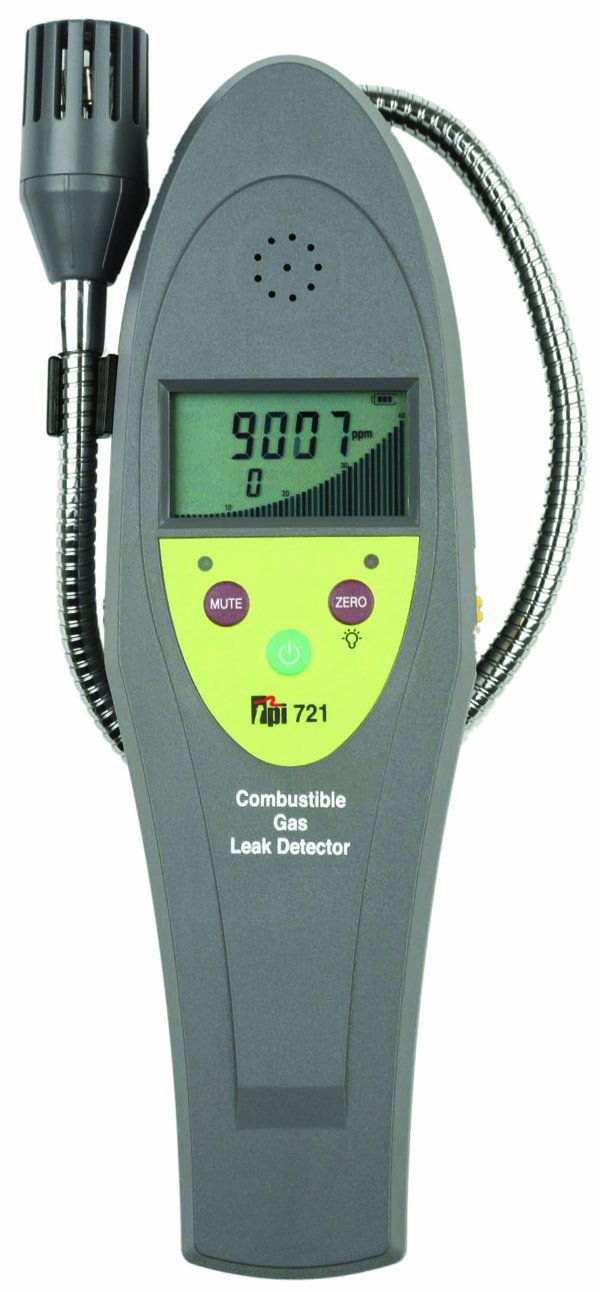 TPI 721 Combustible Gas Leak Detector, LCD Display, 10 ppm Sensitivity: Leak Detection Tools: Amazon.com: Industrial & Scientific