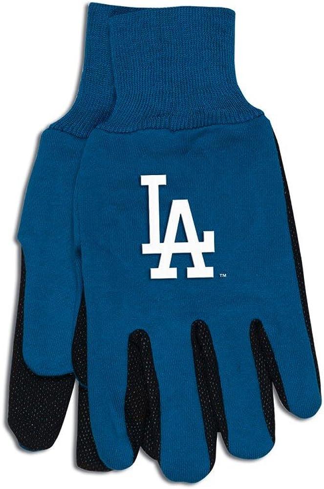 MLB Los Angeles Dodgers Two-Tone Gloves, Blue/Black