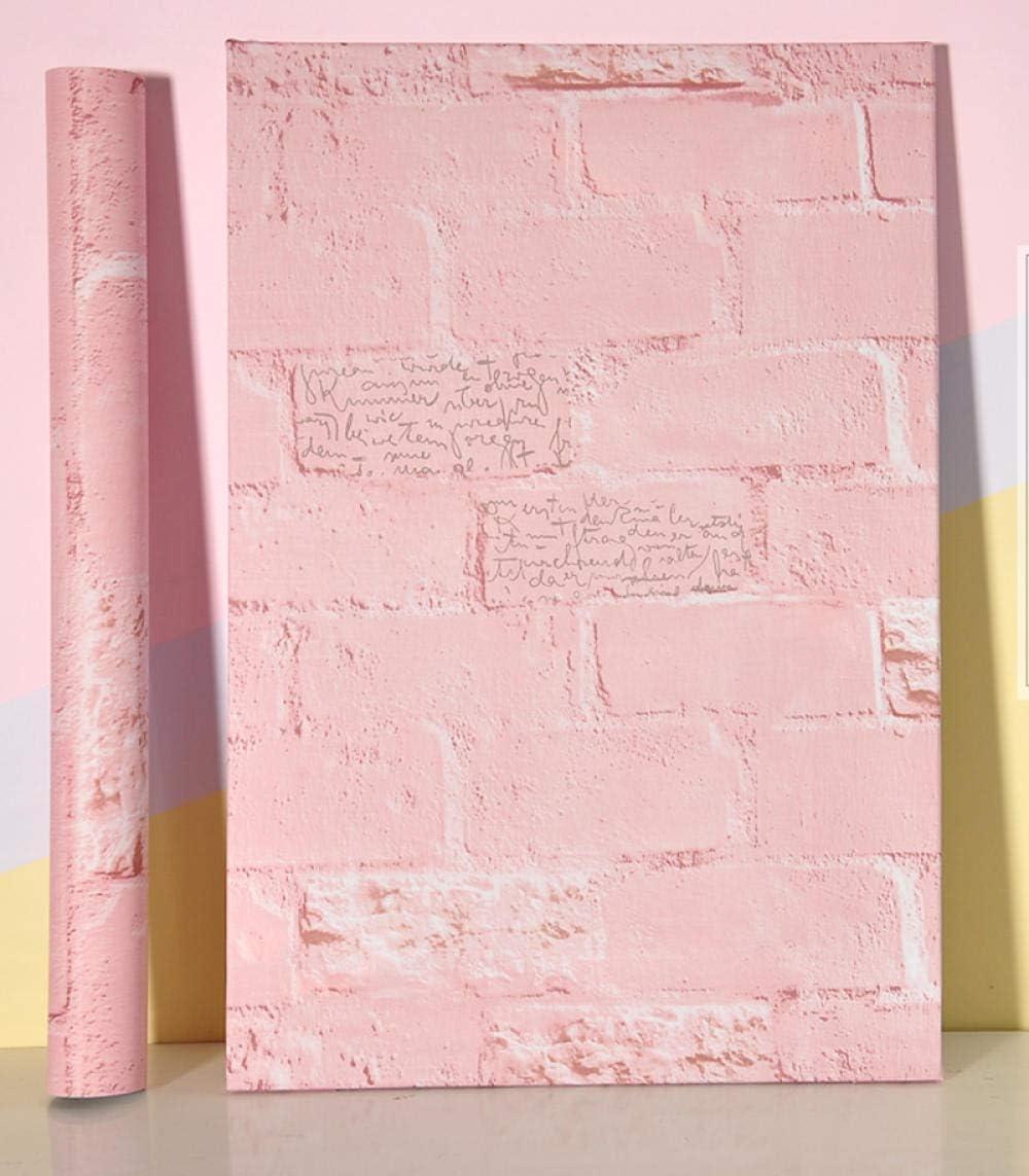 Papel pintado adhesivo a prueba de agua Extraíble Color sólido Vinilo Pegatinas de pared Decoración para el hogar Muebles de dormitorio Papel de contacto 60 cm * 5 m