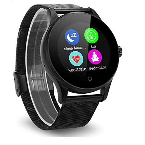 Amazon.com: GFFG Smartwatch with Heart Rate Monitor, IP67 ...