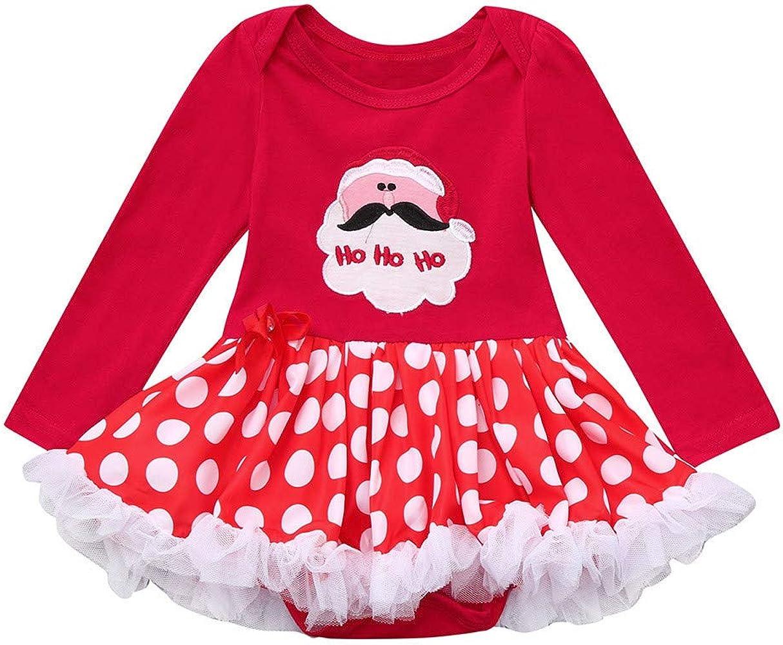POLP niño Niñas Navidad Vestidos Mameluco Disfraces para niños ...