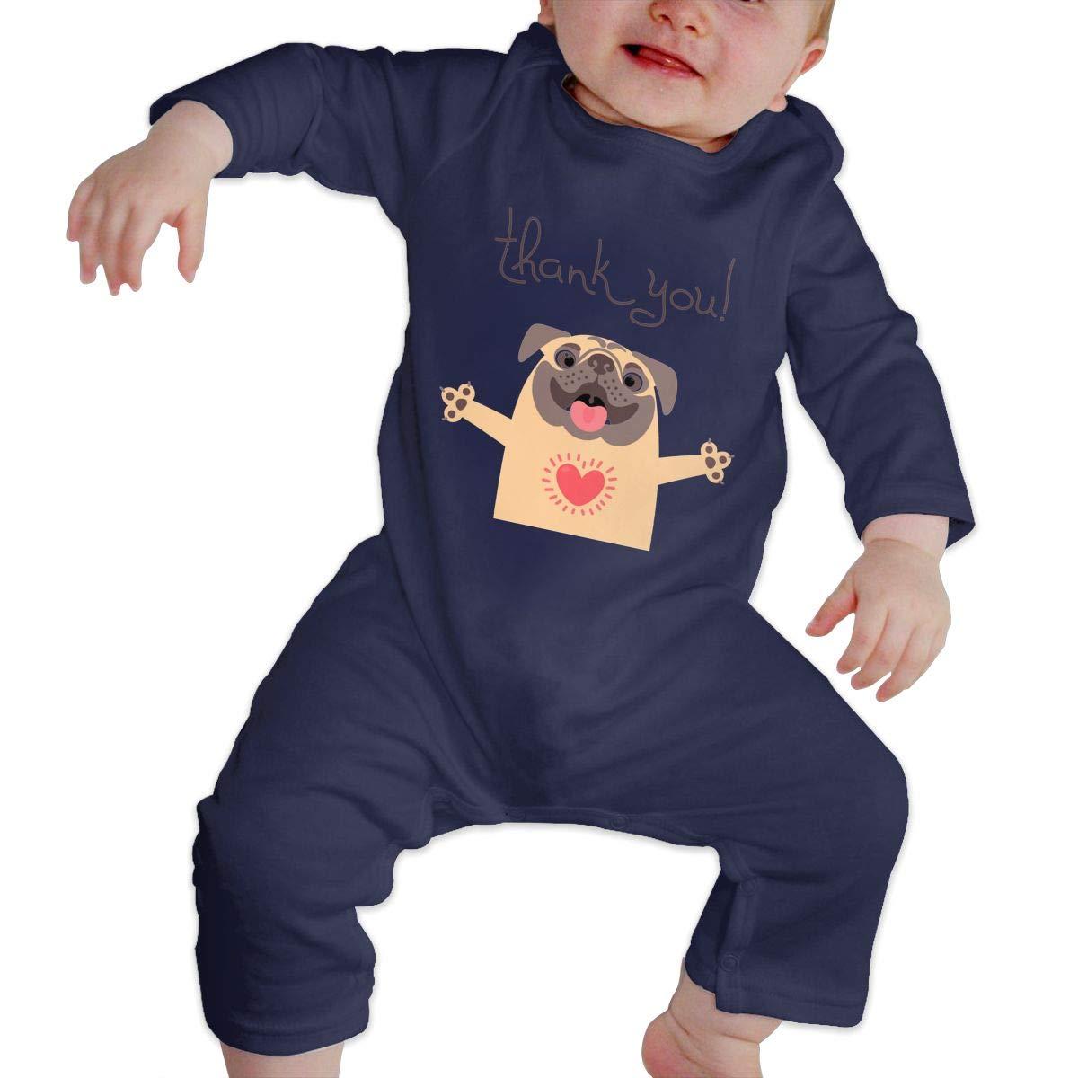 NOALKJ Babys Long Sleeve Romper,Cute-Dogs Jumpsuit Bodysuit Clothes